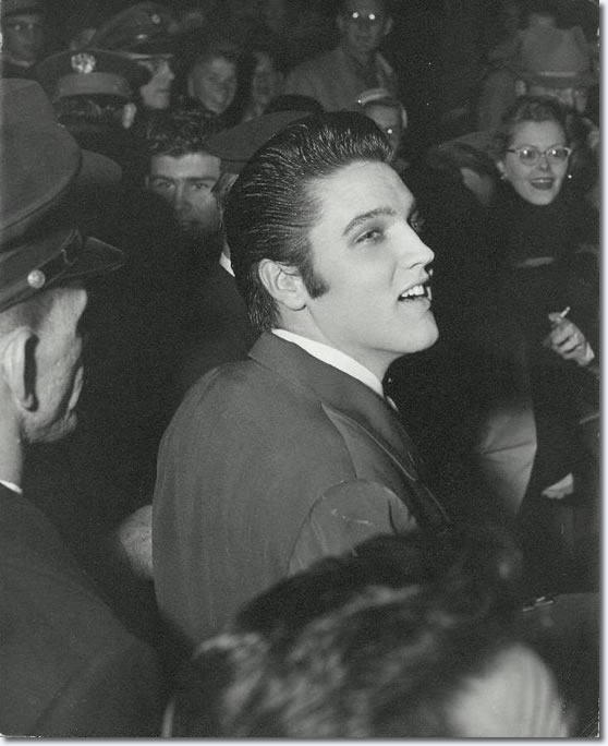 Elvis Presley : E.H. Crump Memorial Football Game : November 30, 1956