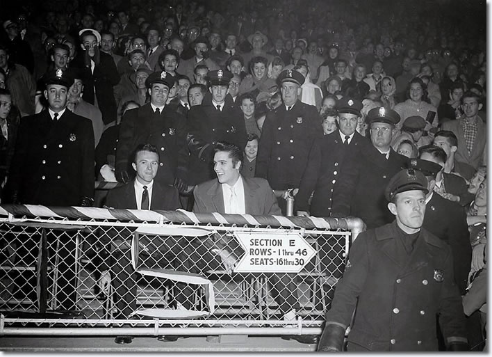 Elvis Presley : E.H. Crump Memorial Football Game : November 30, 1956.