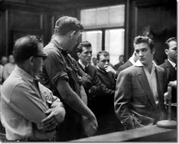 Elvis Presley: October 19, 1956.