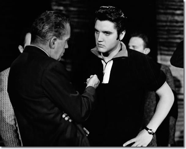 Elvis Presley and Ed Sullivan Show : Rehearsals : The Ed Sullivan Show : New York, October 26, 1956