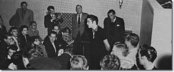 Elvis Presley : The Ed Sullivan Show Press Conference : New York, October 26, 1956.