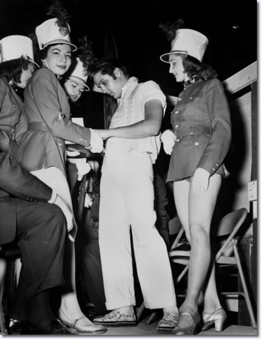 Elvis Presley at the Mid-South Fair - Memphis September 29, 1956