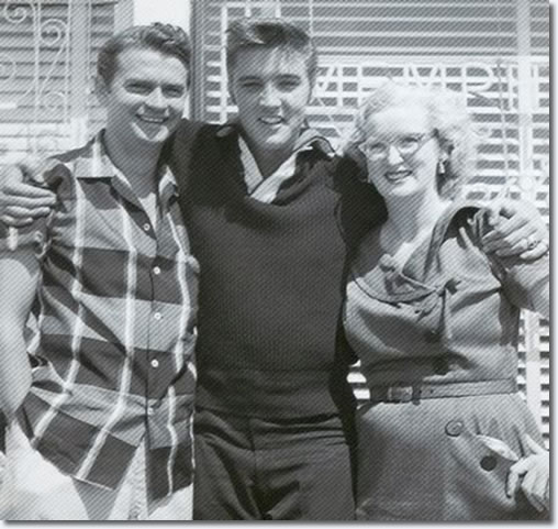 Sam Phillips, Elvis Presley and Marion Keisker, September 23, 1956.