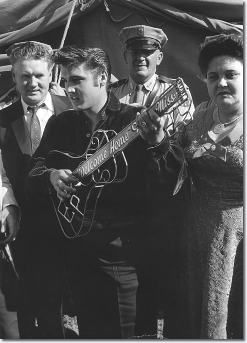 Elvis Presley 1956 - Tupelo, MS. Mississippi-Alabama Fairgrounds