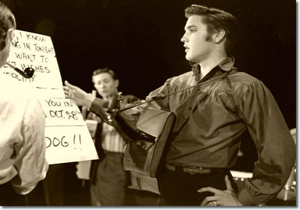 Elvis Presley :The Ed Sullivan Show : Rehearsals : September 9, 1956.