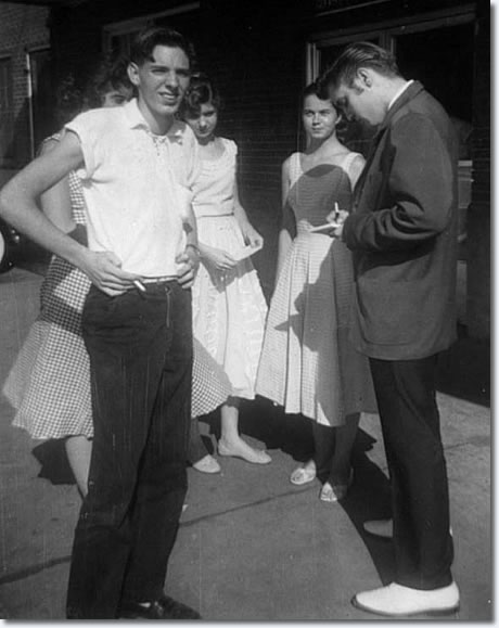July 6, 1956 Elvis visitied 12 year old Ellen Mincey at St. Joseph's Hospital in Memphis.