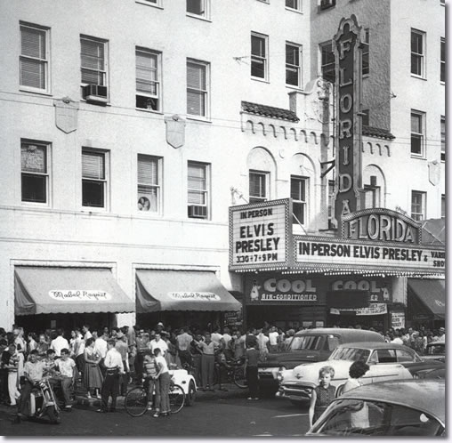 Elvis Presley August 7 1956. Florida Theatre Petersburg