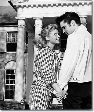 Elvis Presley with Yvonne Lime April 19, 1957