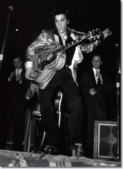 Elvis Presley : Onstage at the Auditorium in Ottawa : : Evening Show : April. 3, 1957.