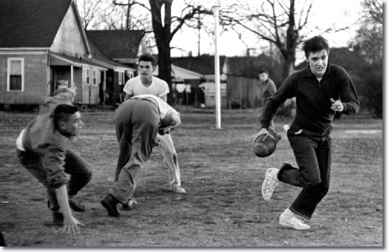 Elvis Presley Touch Football - Dave Wells Community Center December 27, 1956