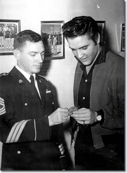 Elvis Presley Kennedy Veterans Hospital January 4, 1957