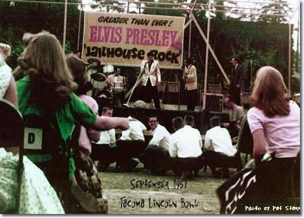 Elvis Presley Tacoma, WA. Lincoln Bowl (Matinee Show) September 1, 1957