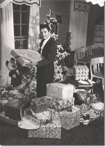 Elvis Presley Christmas at Graceland 1957