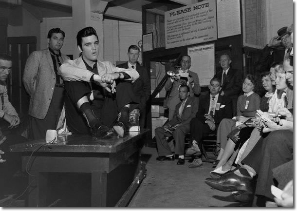Elvis Presley Seattle, WA. Sick's Stadium (eve) September 1, 1957
