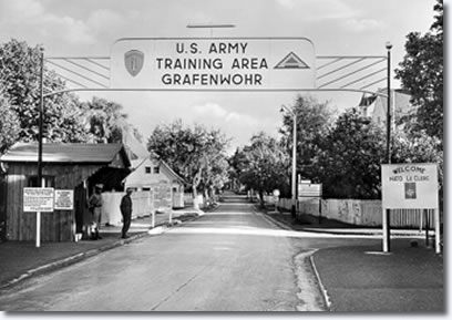 U.S. Army Training Area : Grafenwoehr November 28th 1958