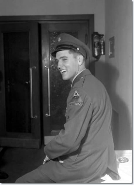Elvis Presley : Ritters Park Hotel, Bad Homburg, Germany : First weekend of October 1958.