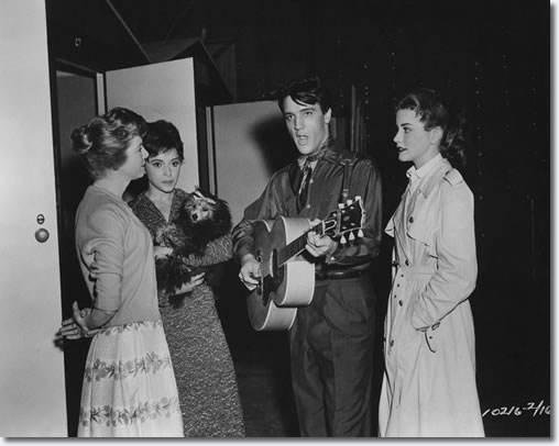 Jan Shepard, Liliane Montevecchi, Elvis and Dolores Hart