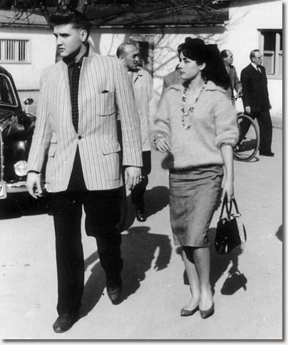 Elvis Presley & Vera Tschechowa - March 3, 1959