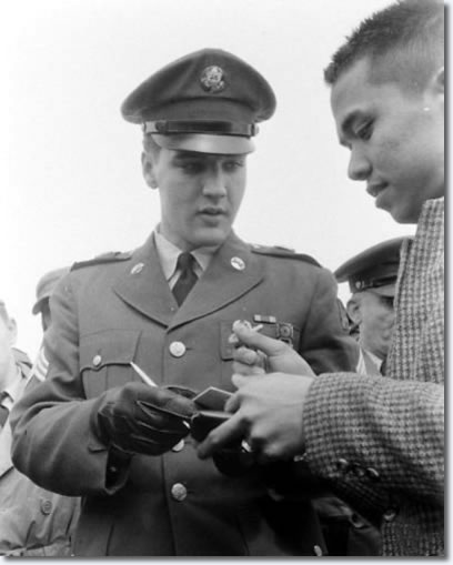 Elvis Presley at Fort Dix: March 3, 1960