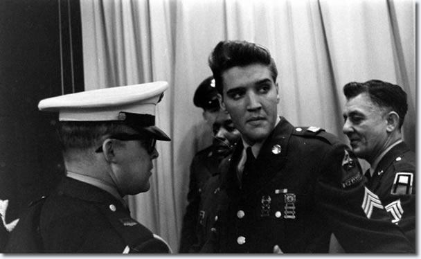 Elvis leaves the building! Fort Dix: March 3, 1960