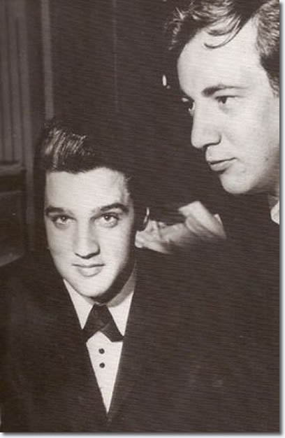 Elvis Prsley and Bobby Darin : Sahara Hotel : July 26, 1960.