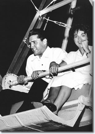 Elvis Presley & Anita Wood July 11, 1960