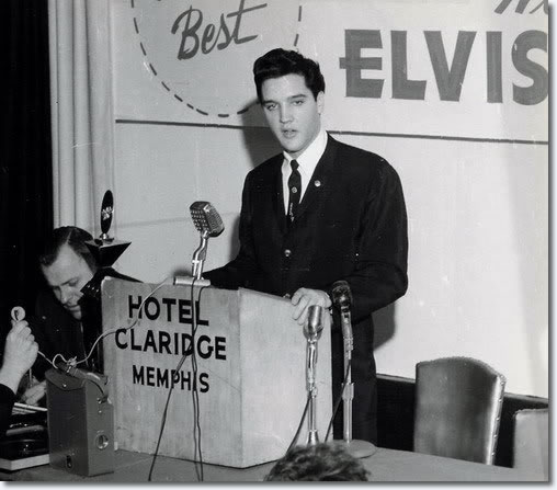 Elvis Presley : The Press Conference : 1:45 pm : February 25, 1961 : Memphis, Tennessee