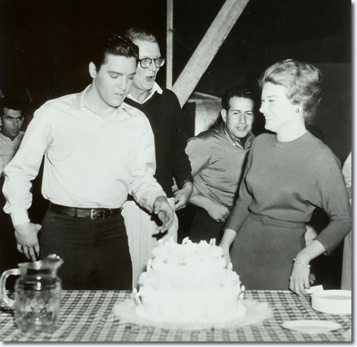 Elvis Presley Friday, January 6, 1961 - Elvis' 26 birthday party