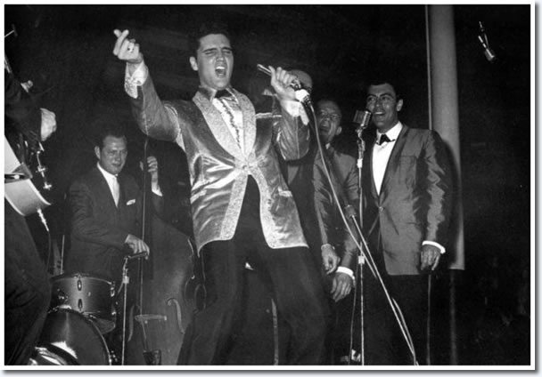 Elvis Presley : March 25, 1961 : Honolulu, HI. Bloch Arena : U.S.S. Arizona Benefit Concert.
