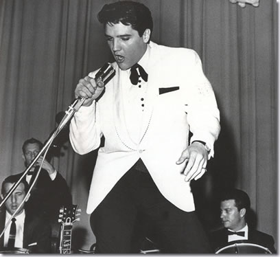 Elvis Presley 25 February. Memphis, TN. Ellis Auditorium (2 shows)