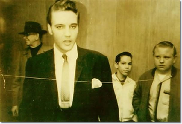 Elvis Presley : Backstage at The Ellis Auditorium : Holiday on Ice : March 9, 1962