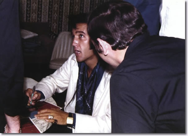 Elvis Presley : Las Vegas : August 12, 1969.