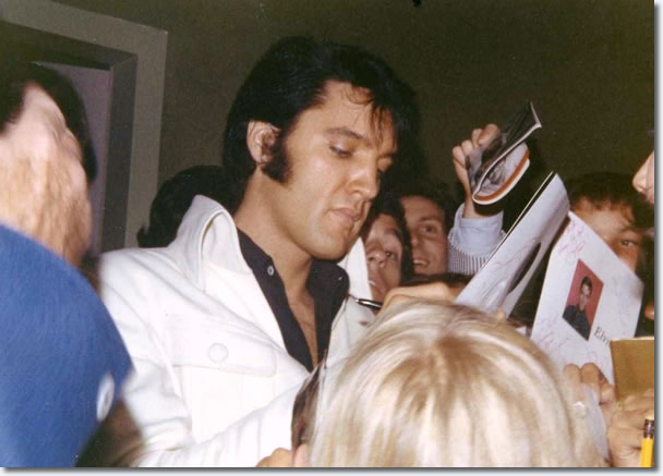 Elvis Presley : Las Vegas : August 17, 1969.