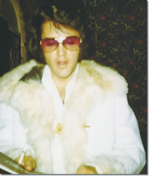 Elvis Presley : New Years Eve Party at TJ's : December 31, 1970.