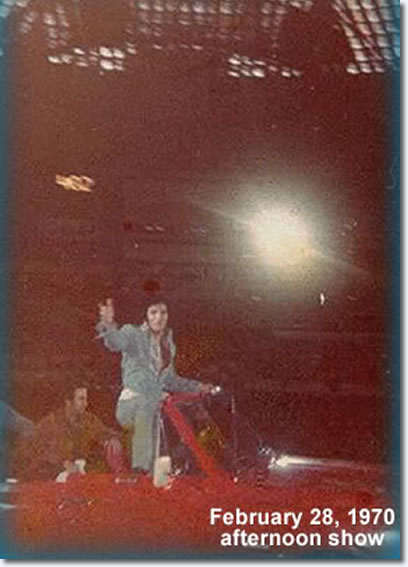 Elvis Presley : Houston Astrodome : February 28, 1970 : Afternoon Show.