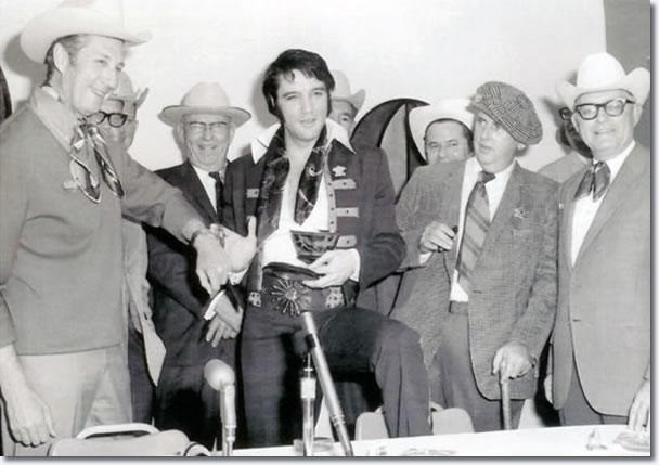 Elvis Presley : Houston Astrodome : March 1, 1970 : The Press Conference.