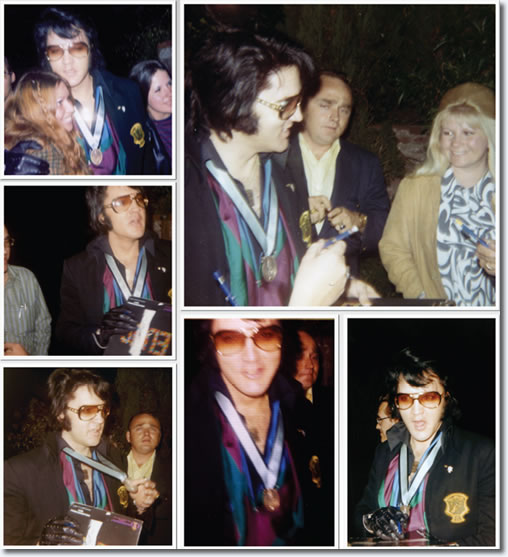Elvis Presley : 1174 Hillcrest, Beverly Hills, California : April 23, 1971, from the book The Elvis Files Vol. 6.