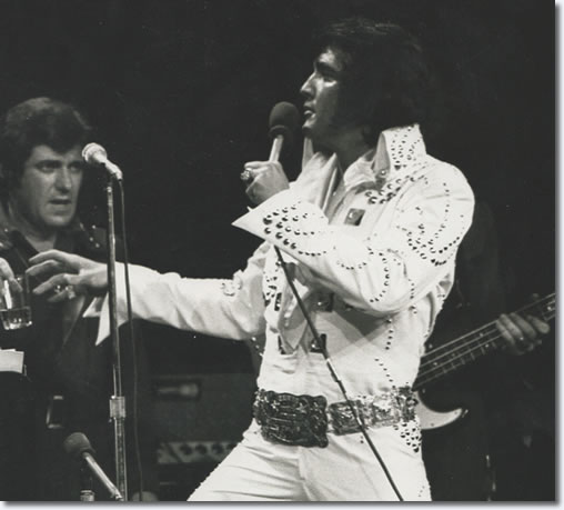 Elvis Presley : Madison Square Garden : Opening Night : Friday June 9th 1972 : 8:30pm. From the CD Set, Prince From Another Planet.