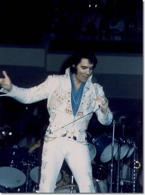 Elvis Presley : April 24, 1973 : Anaheim, CA.
