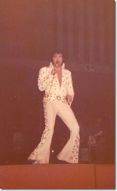 Elvis Presley : April 25, 1973 : Fresno : California