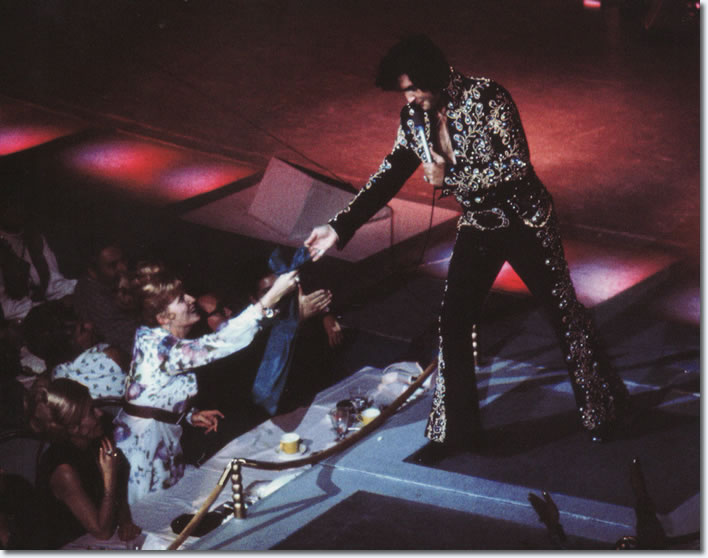 Elvis Presley : August 31, 1973 DS. Las Vegas, NV.