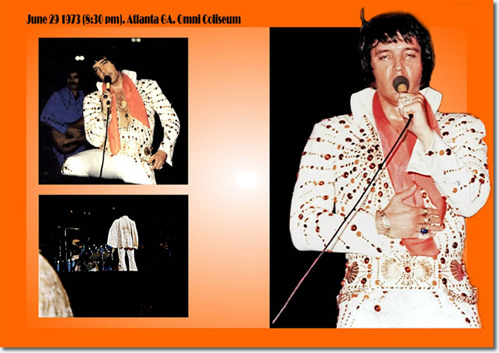 Elvis Presley : Atlanta : Omni Coliseum : June 29, 1973