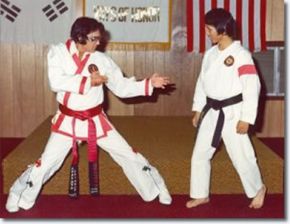 Elvis and Karate byer Kang Rhee