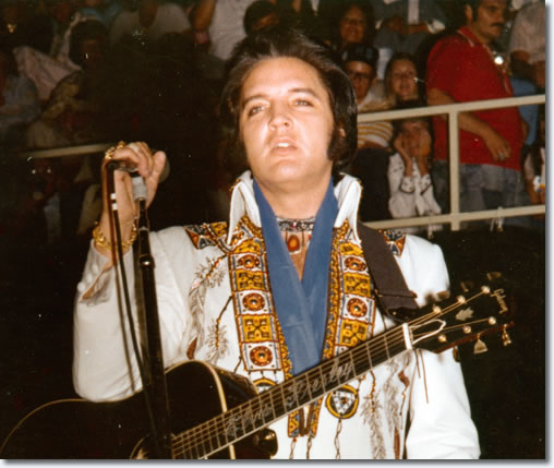 Elvis Presley : Greensboro : July 22, 1975