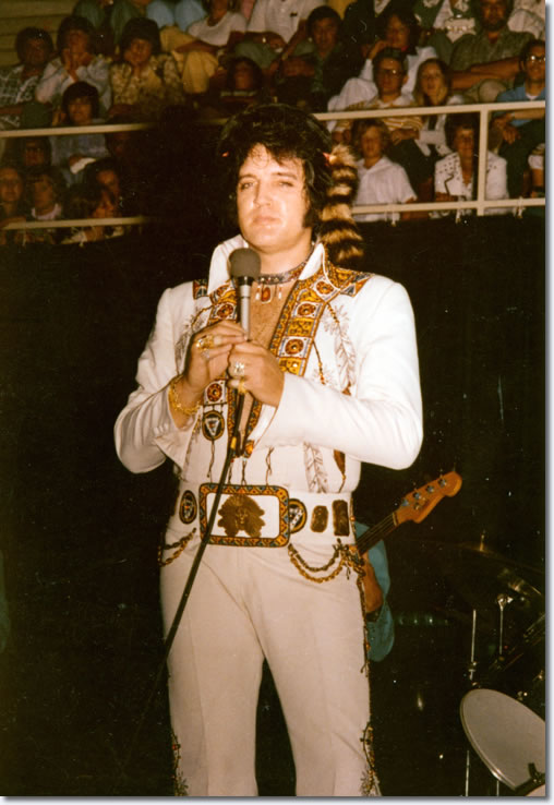 Elvis Presley : Greensboro : July 22, 1975.