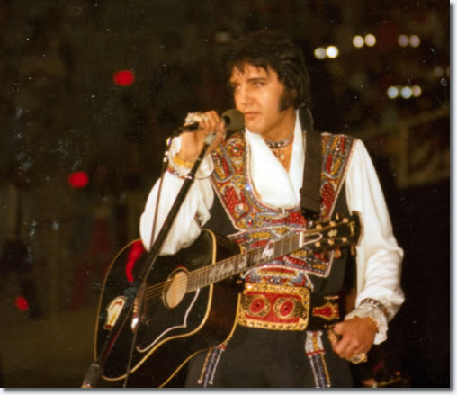 Elvis Presley : Greensboro : July 23, 1975