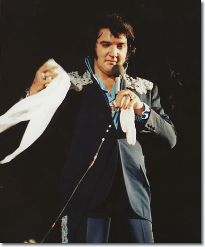 Elvis Presley: Omni : Atlanta Georgia : May 1, 1975.