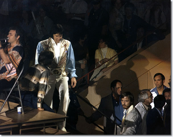 Elvis Presley Civic Center, Springfield, Mass July 29, 1976