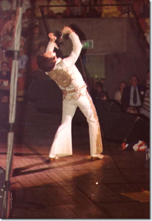 Elvis Presley : June 26, 1977 : Market Square Arena, Indianapolis, In.