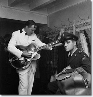 Elvis and Bill Haley - October 23, 1958